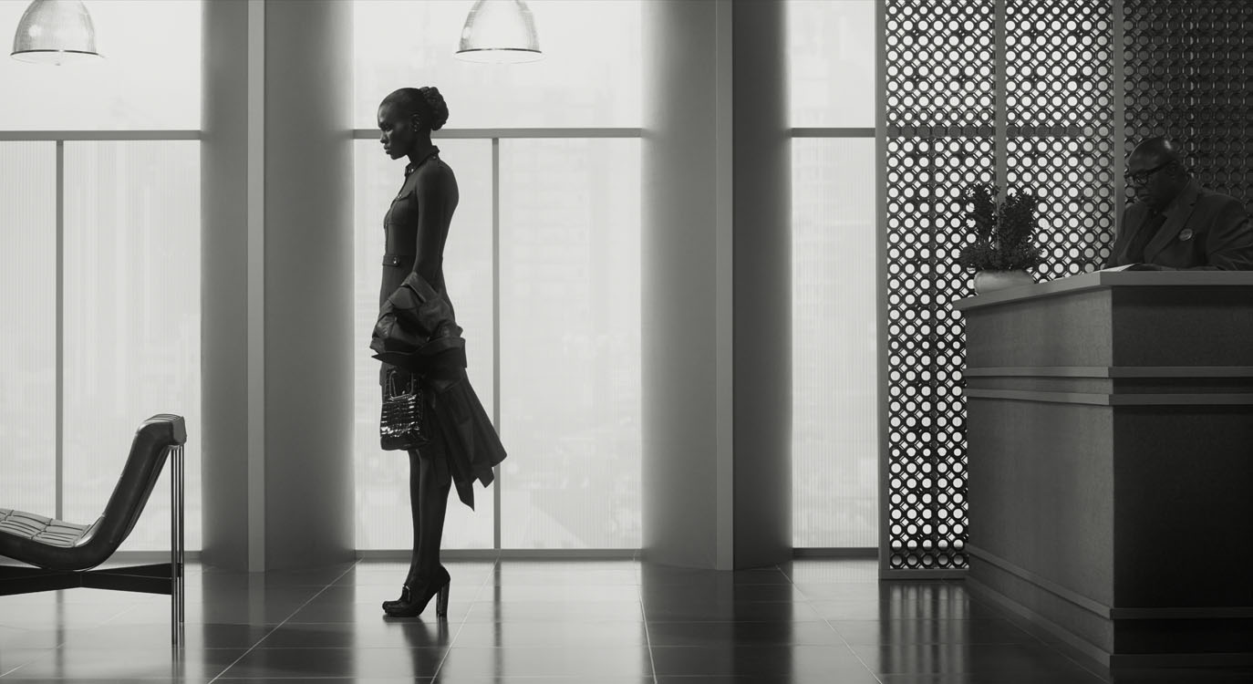 Erwin Olaf, Waiting, Nairobi 3, La Defense 1, 2015,Paris - Courtesy the artist and Rabouan Moussion Gallery Paris