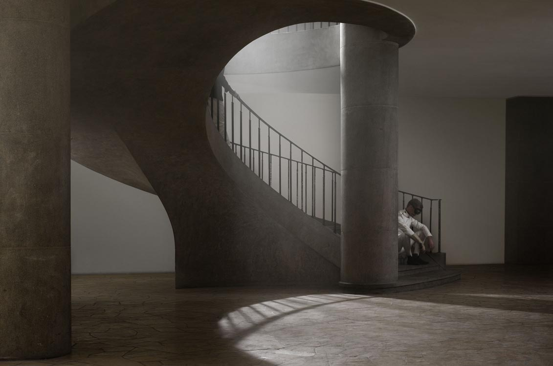 Erwin Olaf, Berlin, Fechthalle westend, 2012,Paris - Courtesy the artist and Rabouan Moussion Gallery Paris