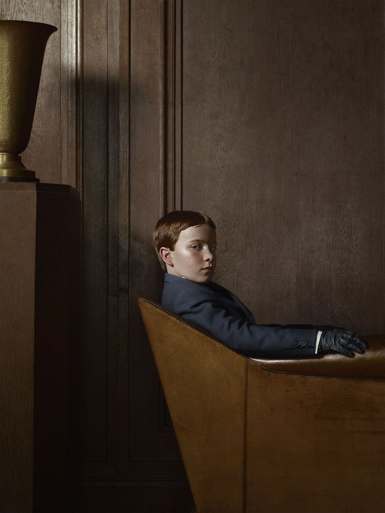 Erwin Olaf, Berlin, Portrat 01, 22 April, 2012 - Courtesy the artist and Rabouan Moussion Gallery Paris