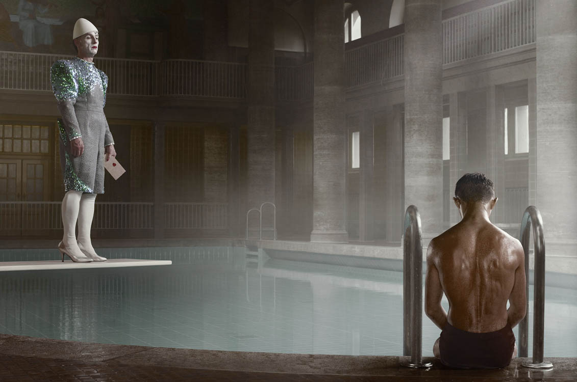 Erwin Olaf, Berlin, Stadtbad Neukolln, 23 April, 2012 - Courtesy the artist and Rabouan Moussion Gallery Paris