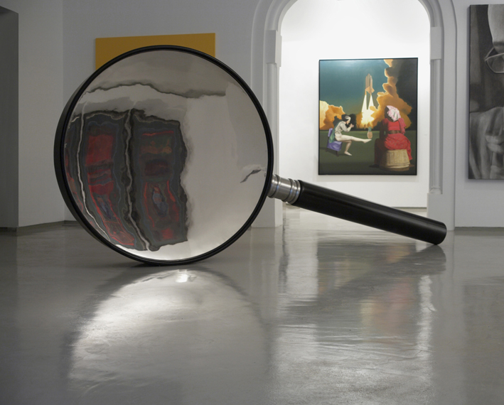 Sunil Gawde,  NFOA  , 2001, 85 x 122 x 183 cm- Courtesy the artist and Rabouan Moussion Gallery Paris