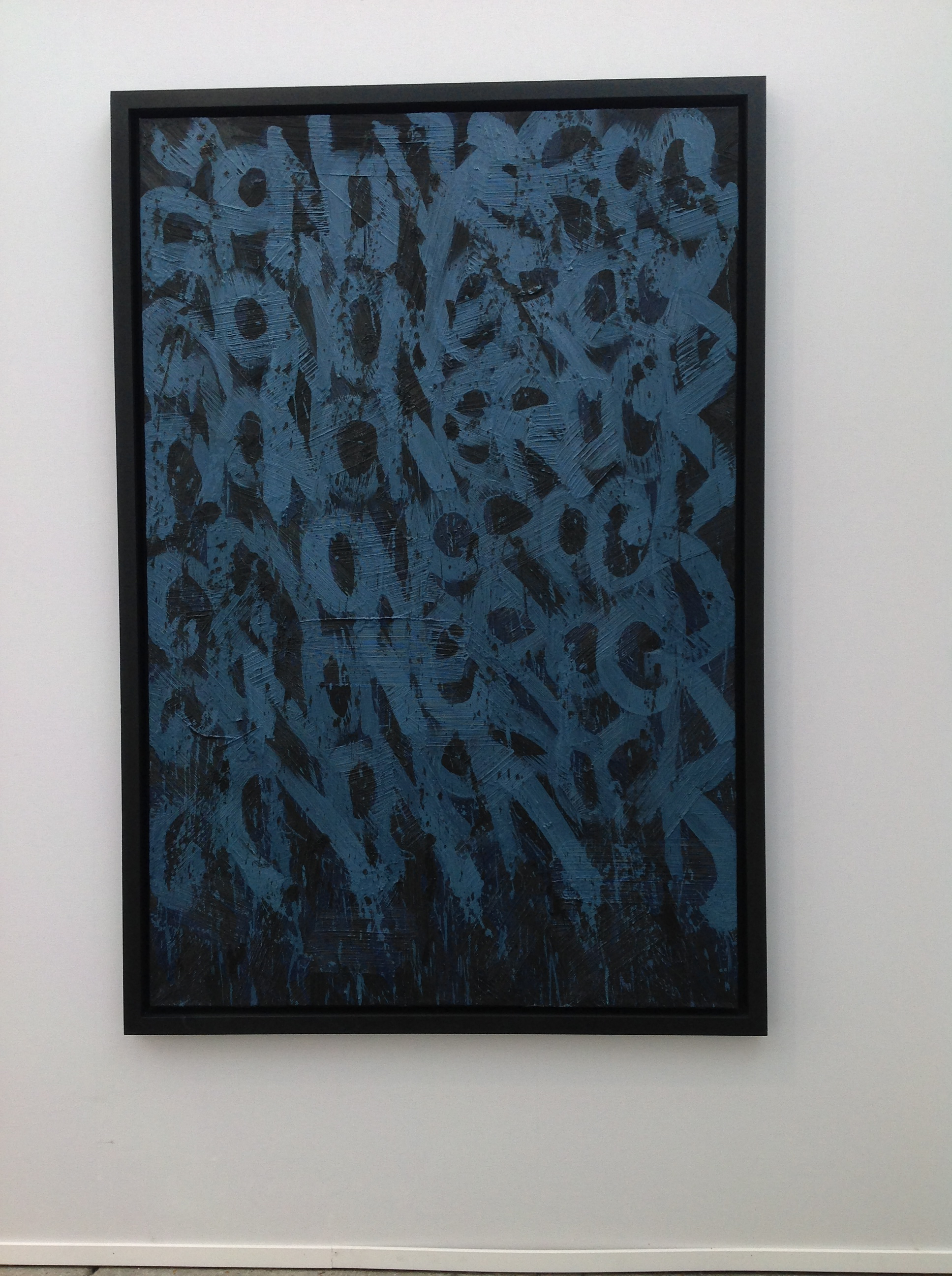 JonOne,  Untitled , 2014, - 218 x 138 cm - Courtesy the artist and Rabouan Moussion Gallery Paris