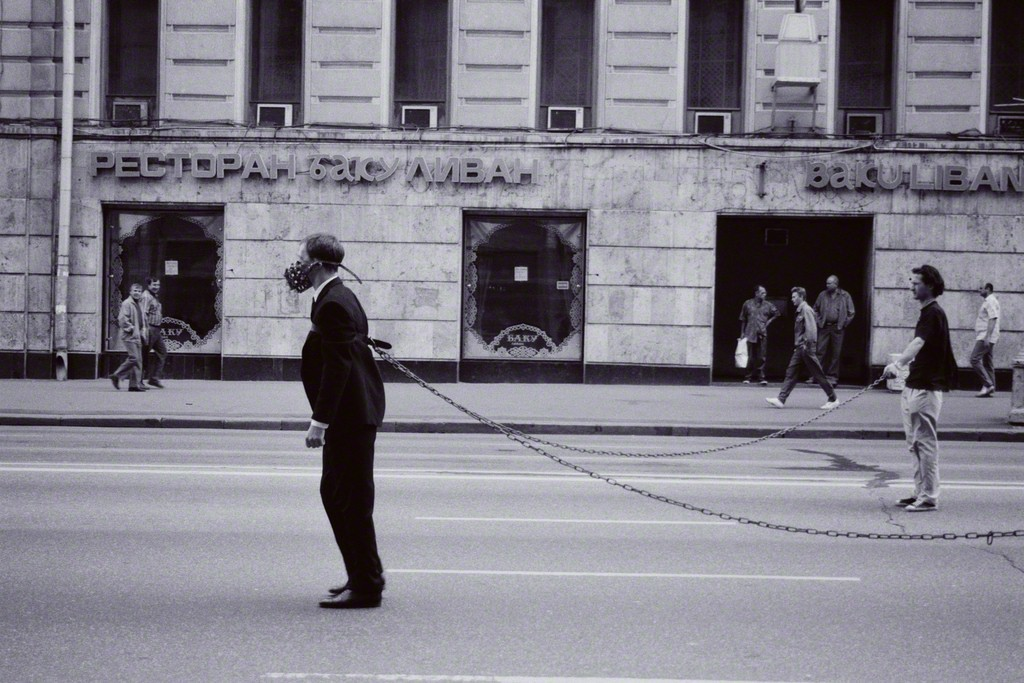 Political Look of a Man 04, 1995  Courtesy the artist and Rabouan Moussion Gallery Paris