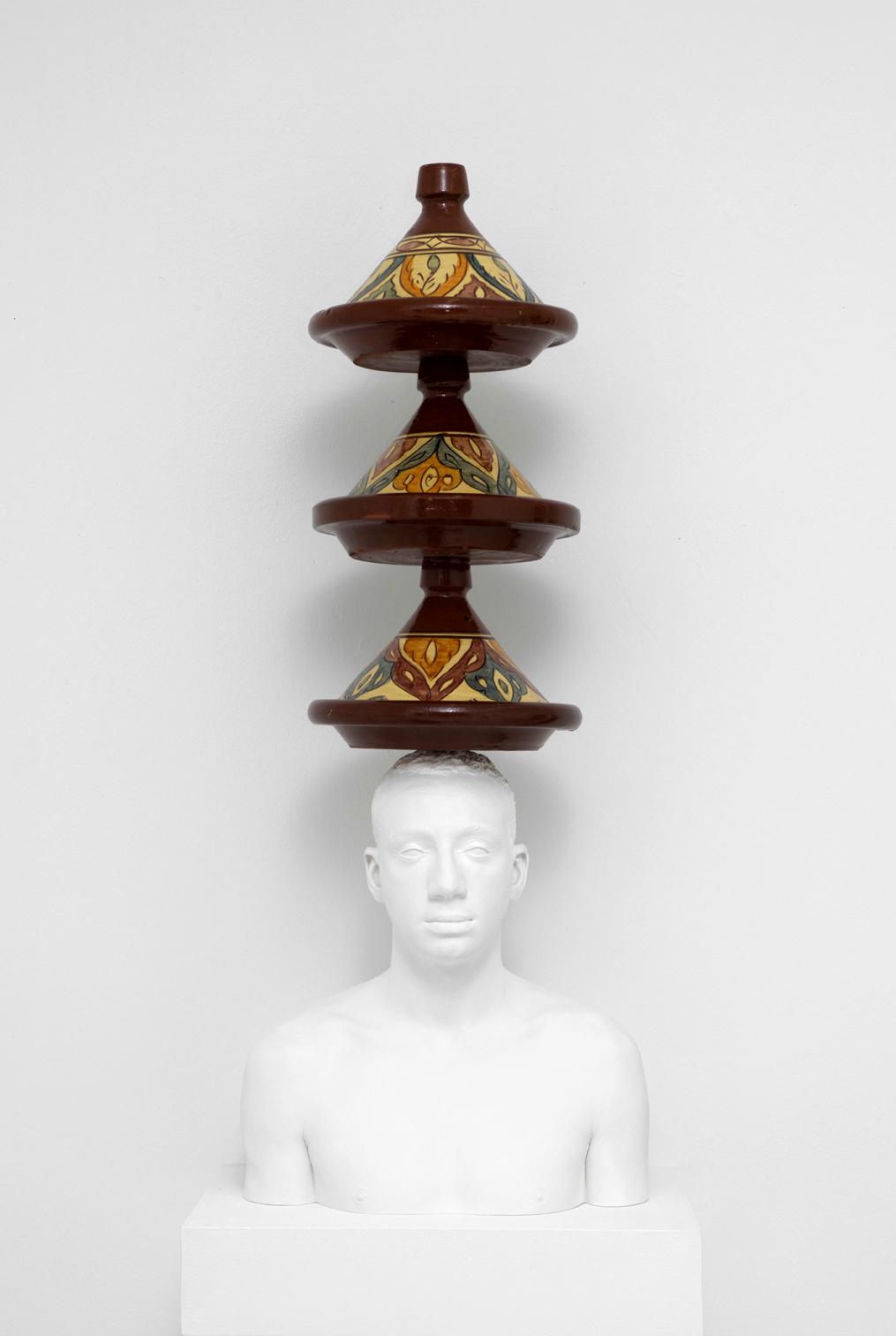 Mehdi-Georges Lahlou, Equilibre aux tajines, 2012 - Courtesy the artist and Rabouan Moussion Gallery Paris