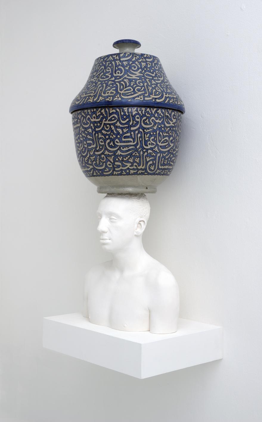 Mehdi-Georges Lahlou, Equilibre au Vase, 2012 - Courtesy the artist and Rabouan Moussion Gallery Paris