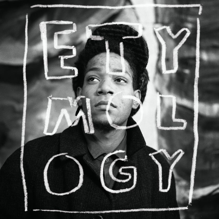 ETYMOLOGY, portrait de jean-Micel Basquiat, Paris, 1988- Courtesy the artist and Rabouan Moussion Gallery Paris
