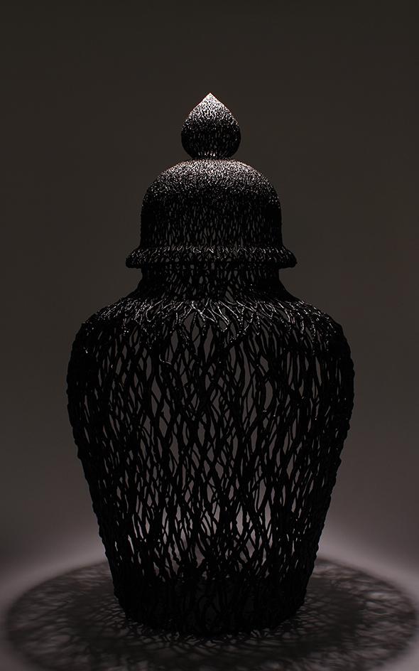 Big Black, 2014, 122cm  Courtesy the artist and Rabouan Moussion Gallery Paris