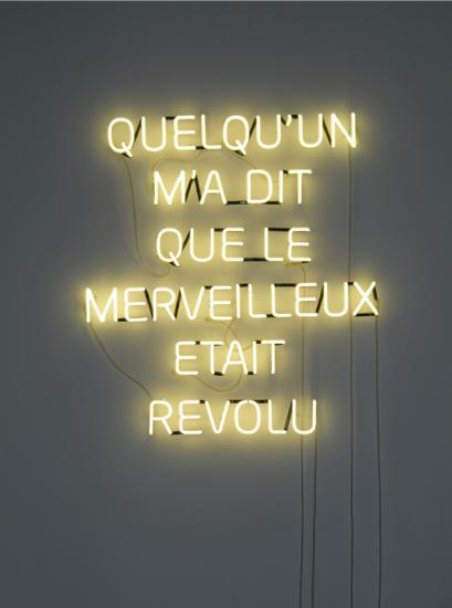 Quelqu'un m'a dit que le merveilleux était révolu, 140 x 100 cm - Courtesy the artist and Rabouan Moussion Gallery Paris