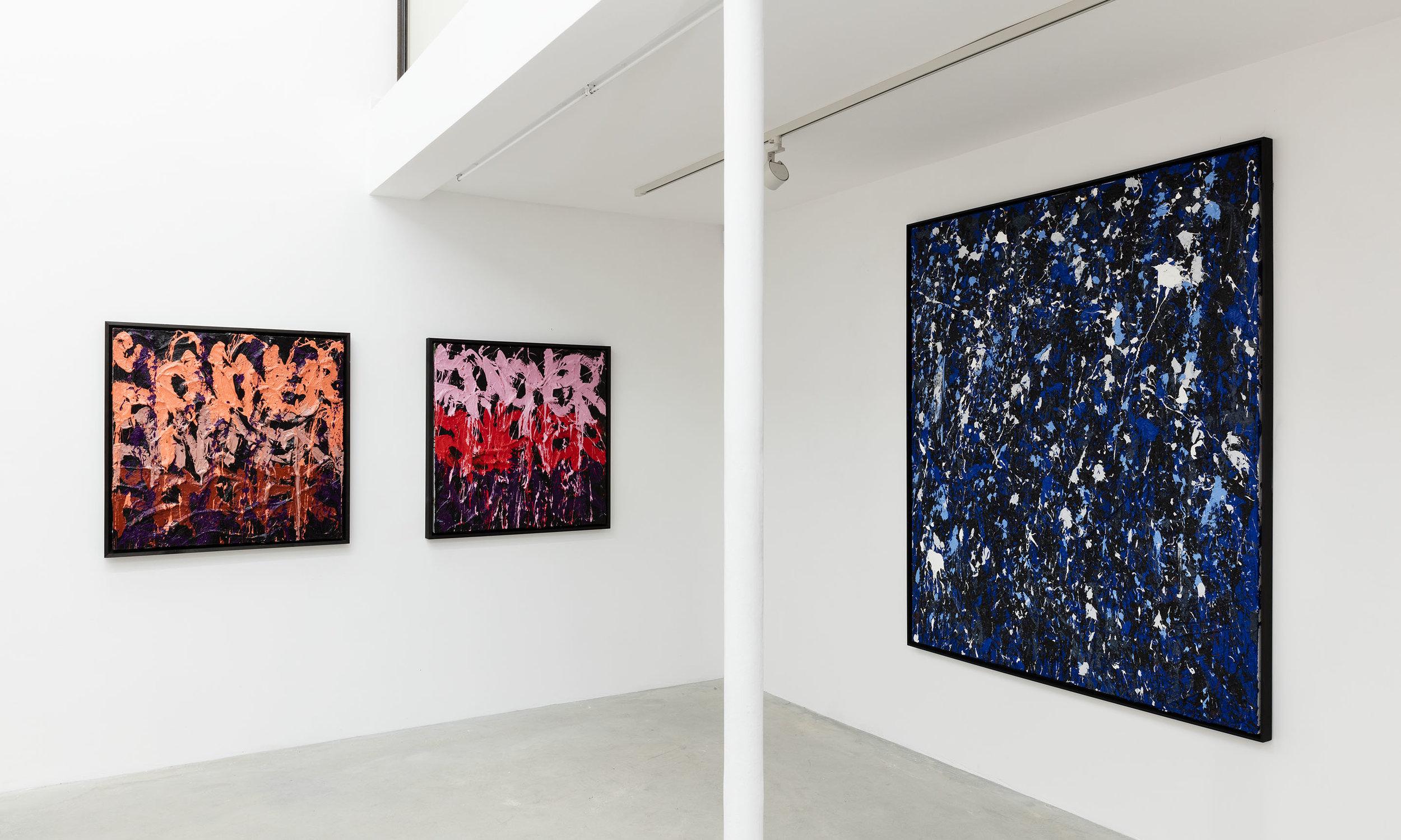 Fire on Water, Galerie Rabouan Moussion Paris