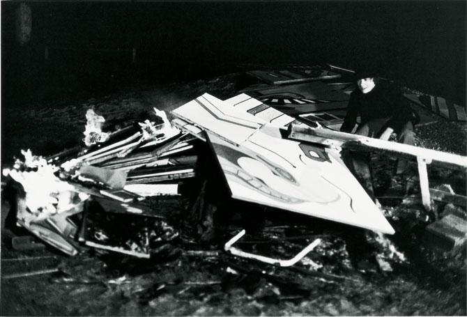 Autodafé, 1968 - Courtesy the artist