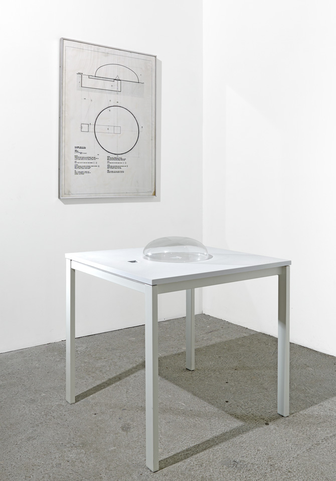 """View the exhibition """"Une Pièce de plus"""", CCC de Tours, 2010. """"Initiation space n°2 """" (1970)."""