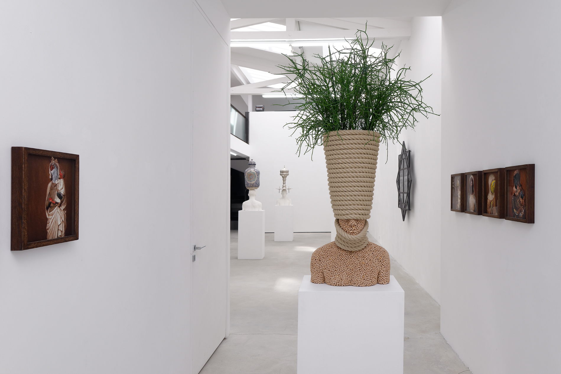 Mehdi-Georges Lahlou, Of the Confused Memory, Rabouan Moussion Gallery
