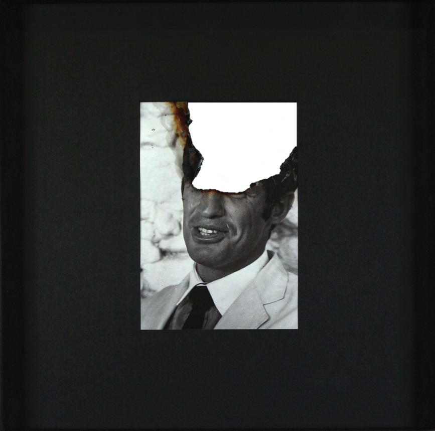 Douglas Gordon, Self portrait of you + me (Jean-Paul Belmondo) Montfavet, Août 2007
