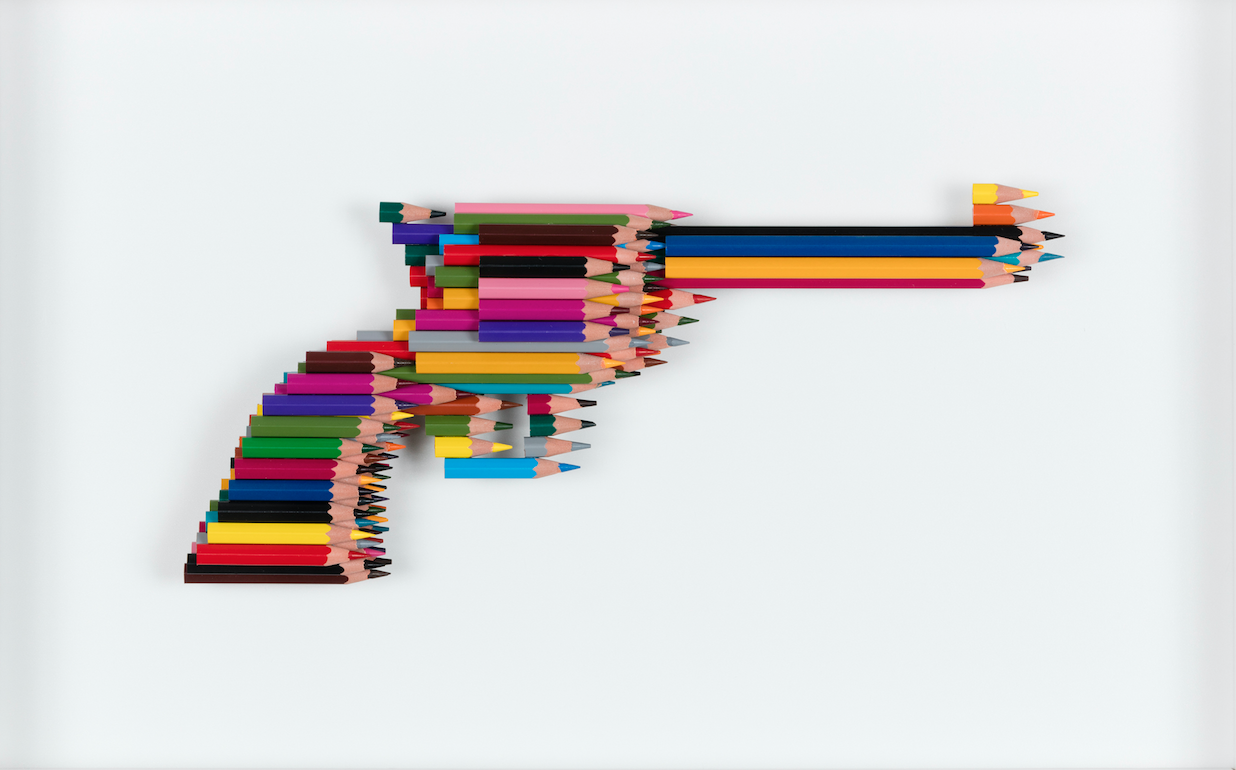 Luke Newton, Crayons not colt too, 2016