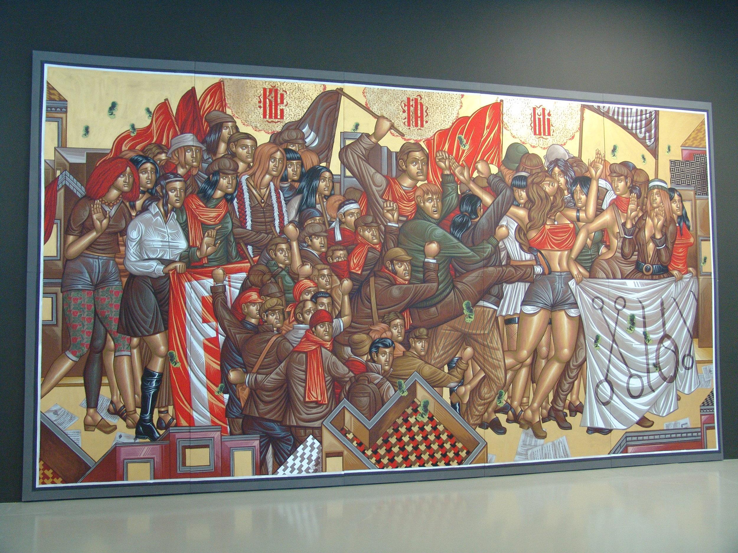 Copy of Stelios Faitakis - ANTIDORON- the EMST Collection - Documenta 14, Kassel