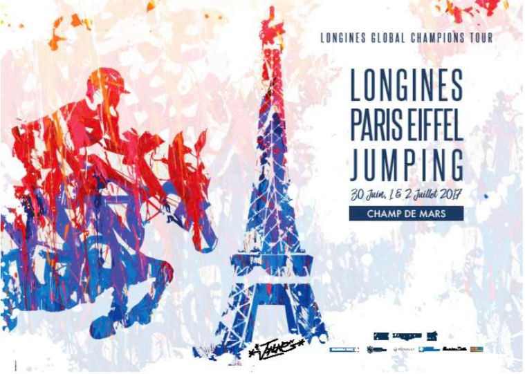 JonOne - Longine Paris Eiffel Jumping