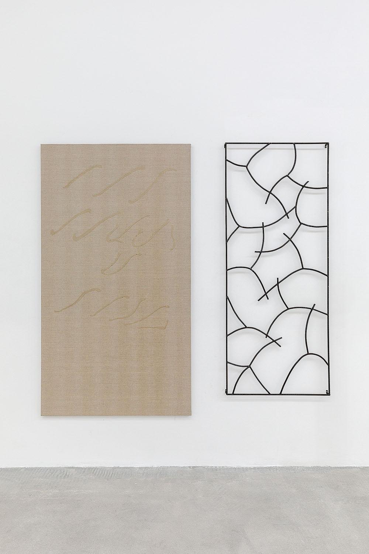 Exhibition view, Aria di Roma, Rabouan Moussion Gallery Paris