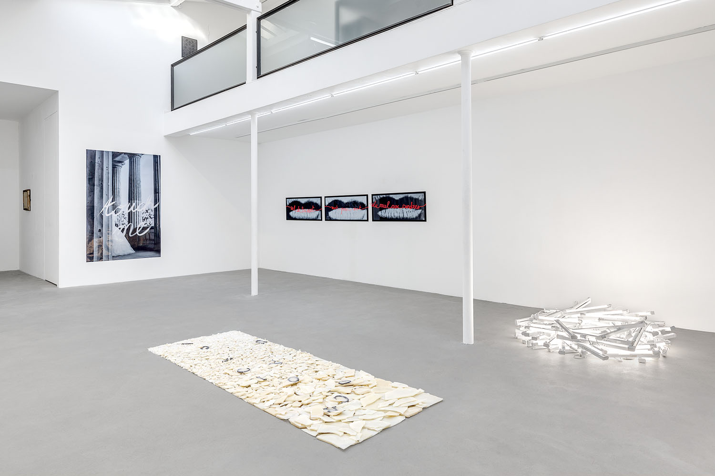 Florence Cantié Kramer, Mot pour Mot, Galerie Rabouan Moussion