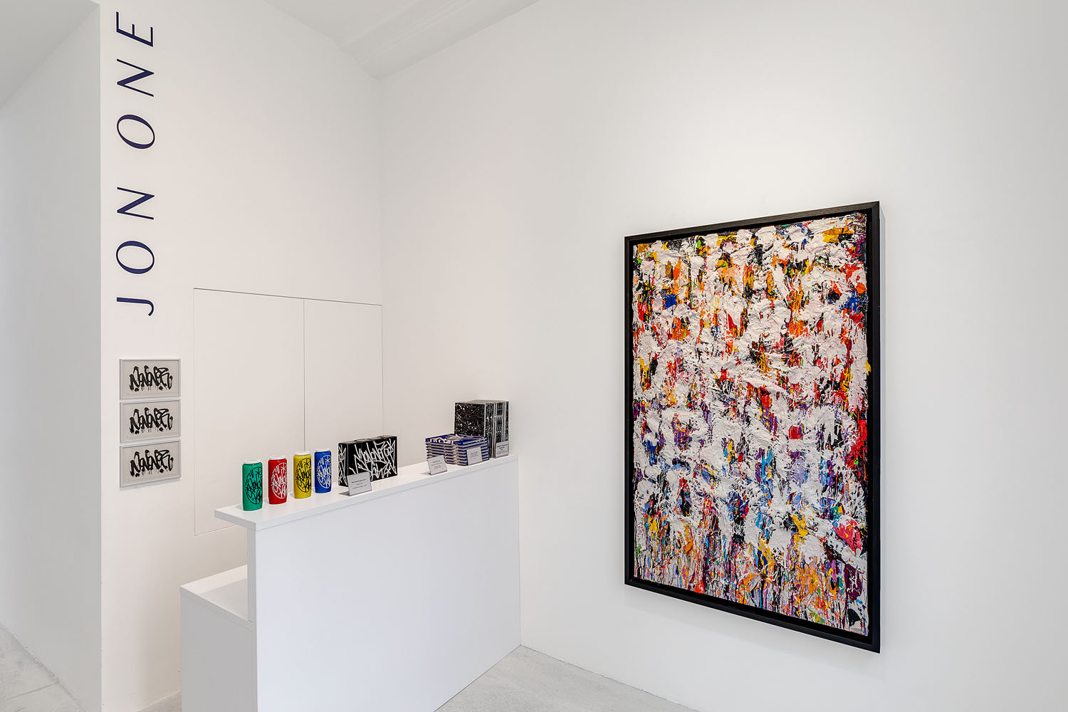 JonOne, In The Box, Rabouan Moussion Gallery