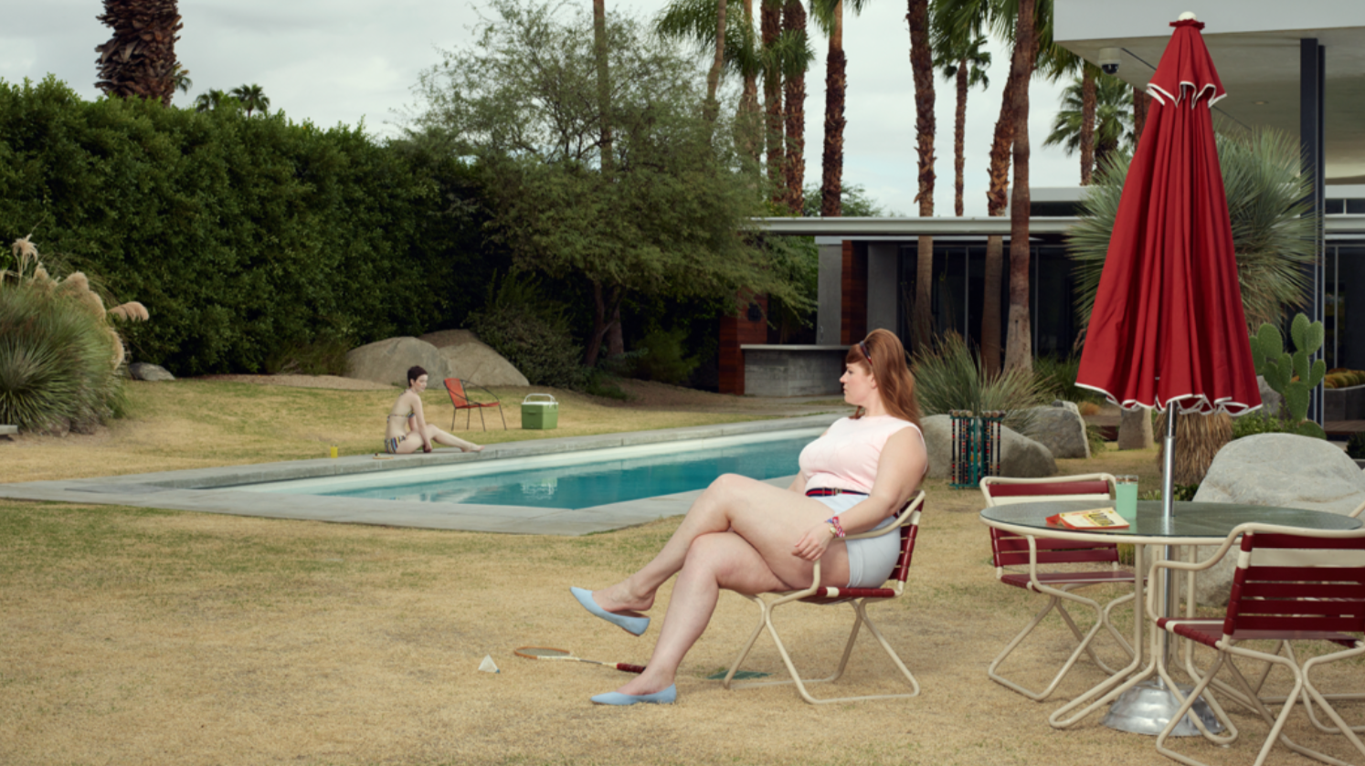 At the Pool, 2018