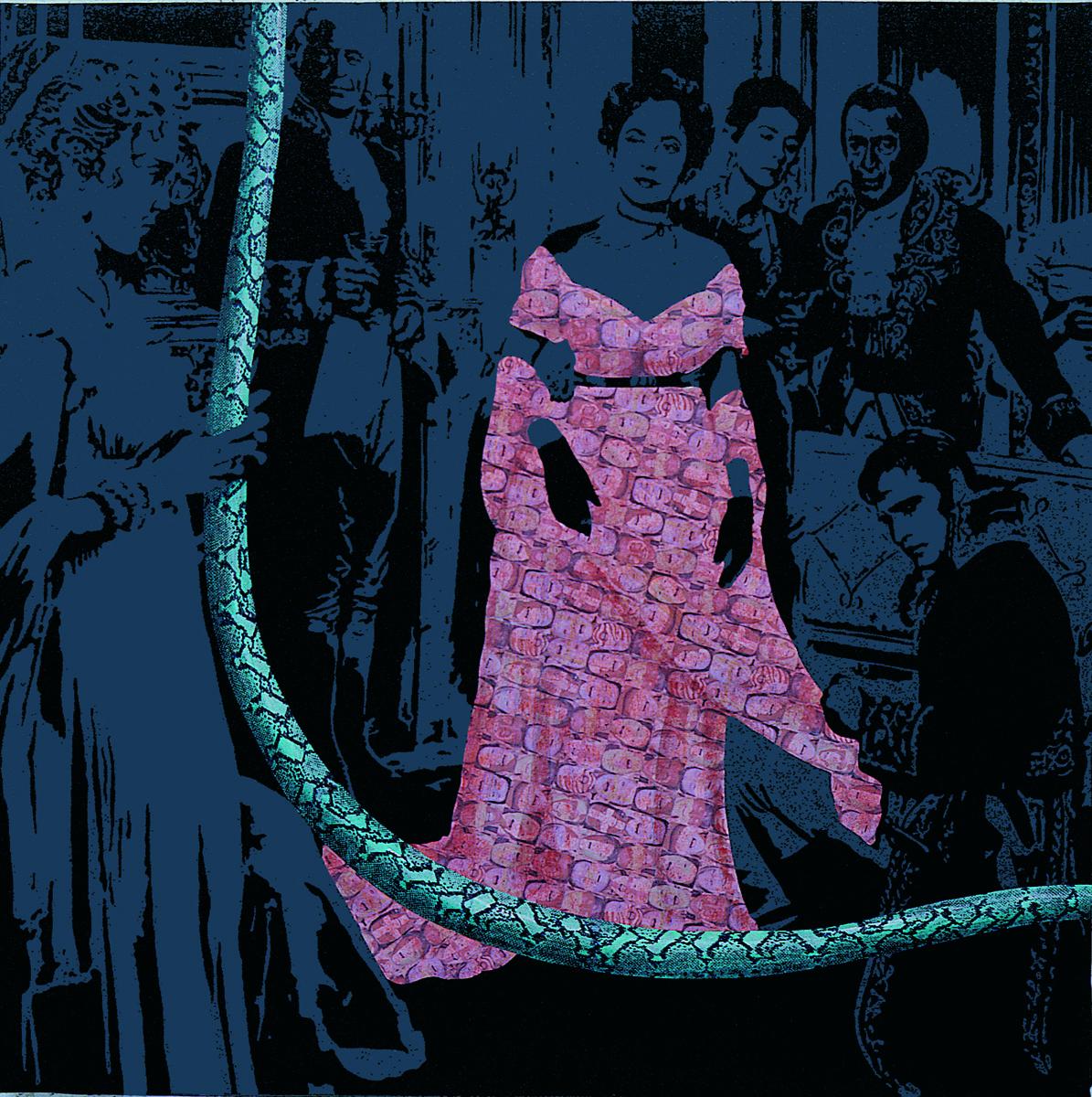 Power & Love, 2006, acrylique sur toile, 162 x 162 cm