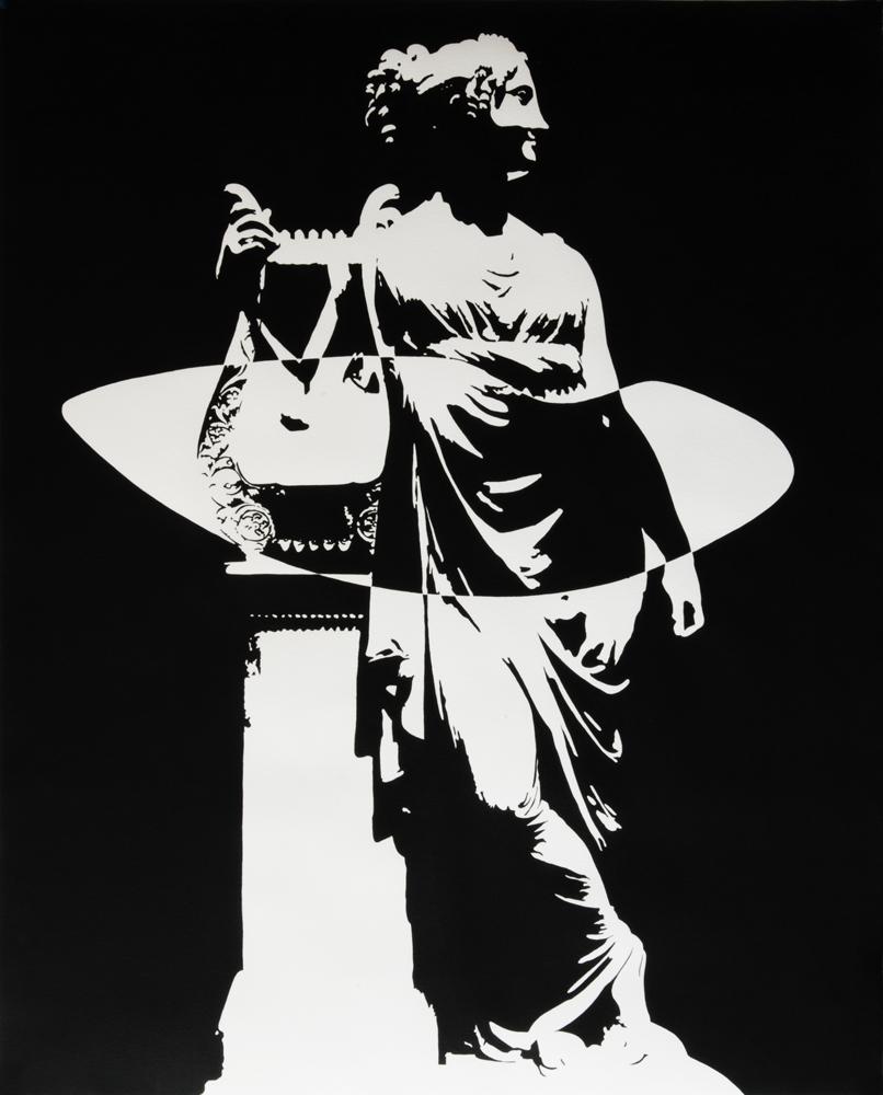 A star is born, 2014, acrylique sur papier, 100 x 80 cm