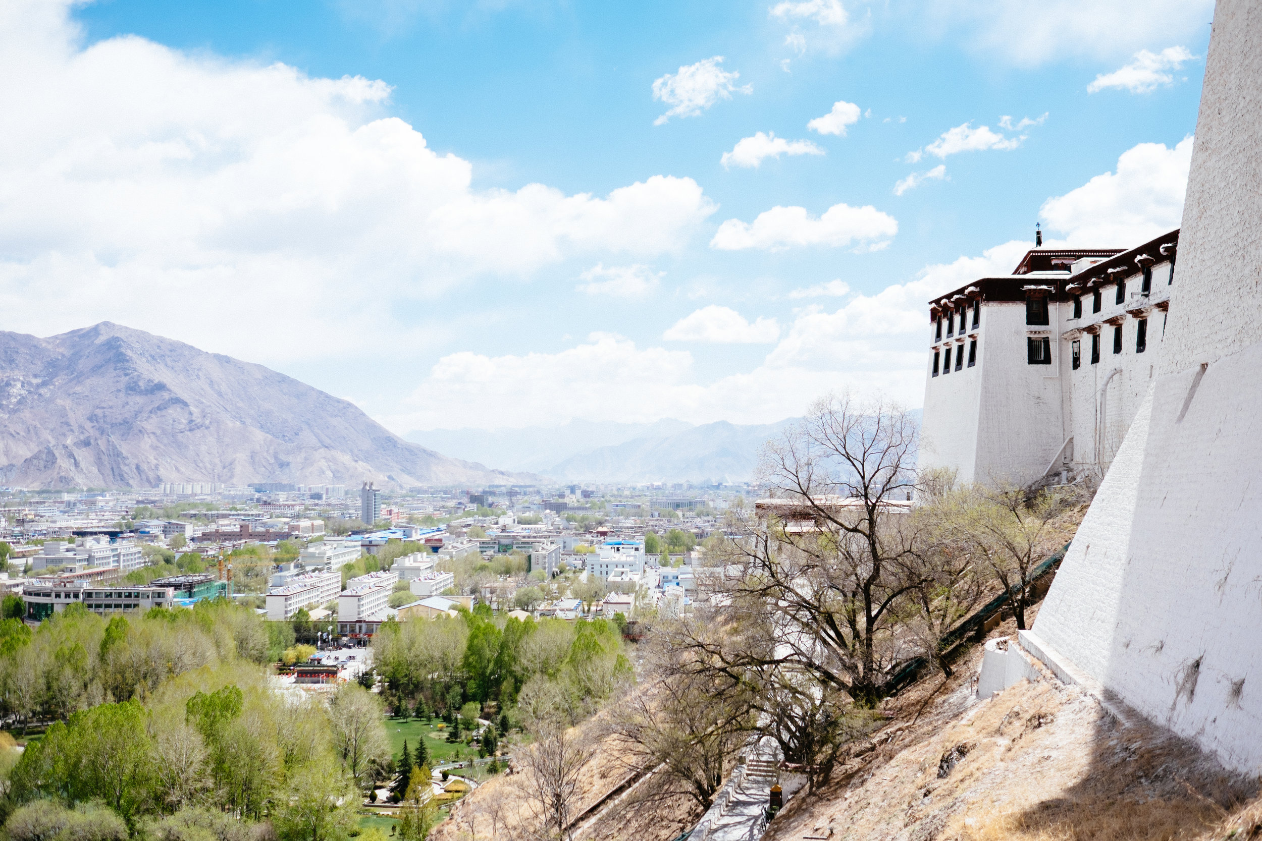 Lhasa, Tibet.
