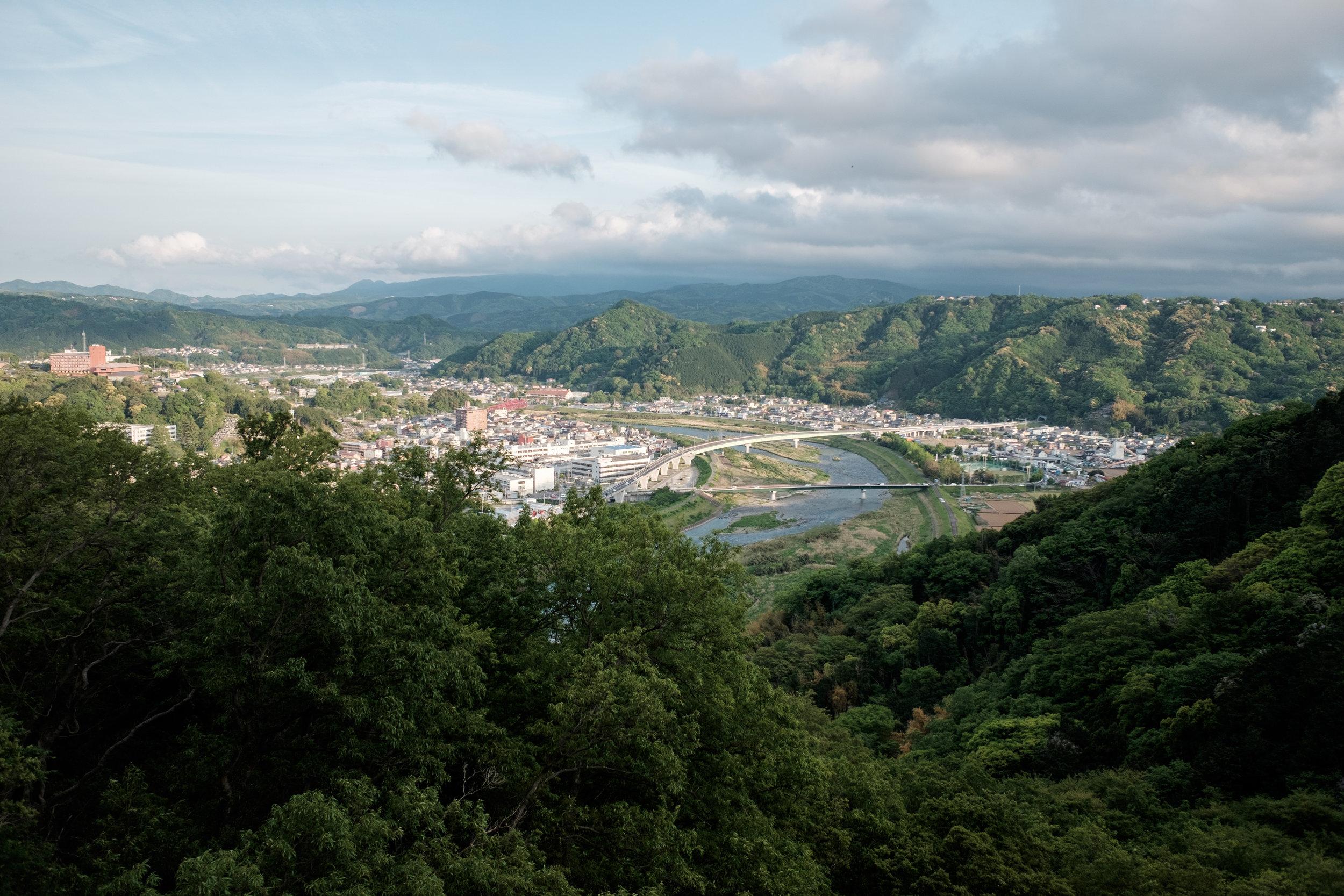 View of Joyama City