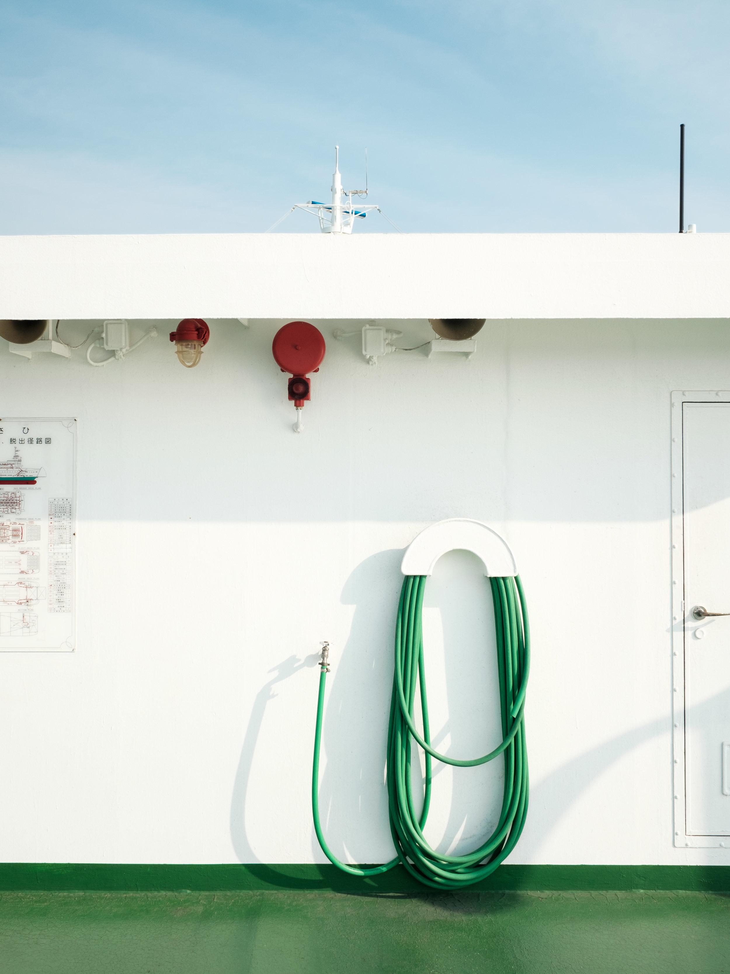 Ferry to Naoshima (II)