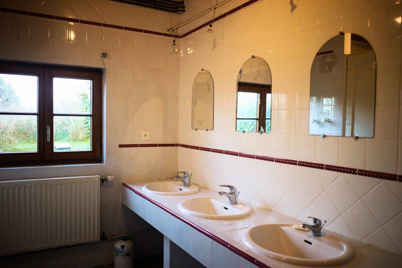 Gîte de 20 salle de bain