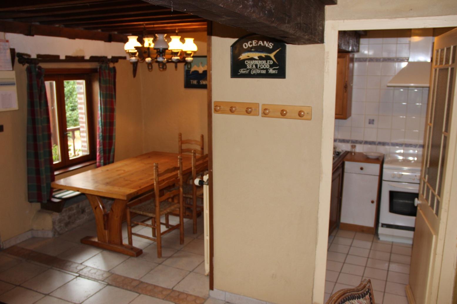 Gîte de 6 à 8 personnes Salle à manger