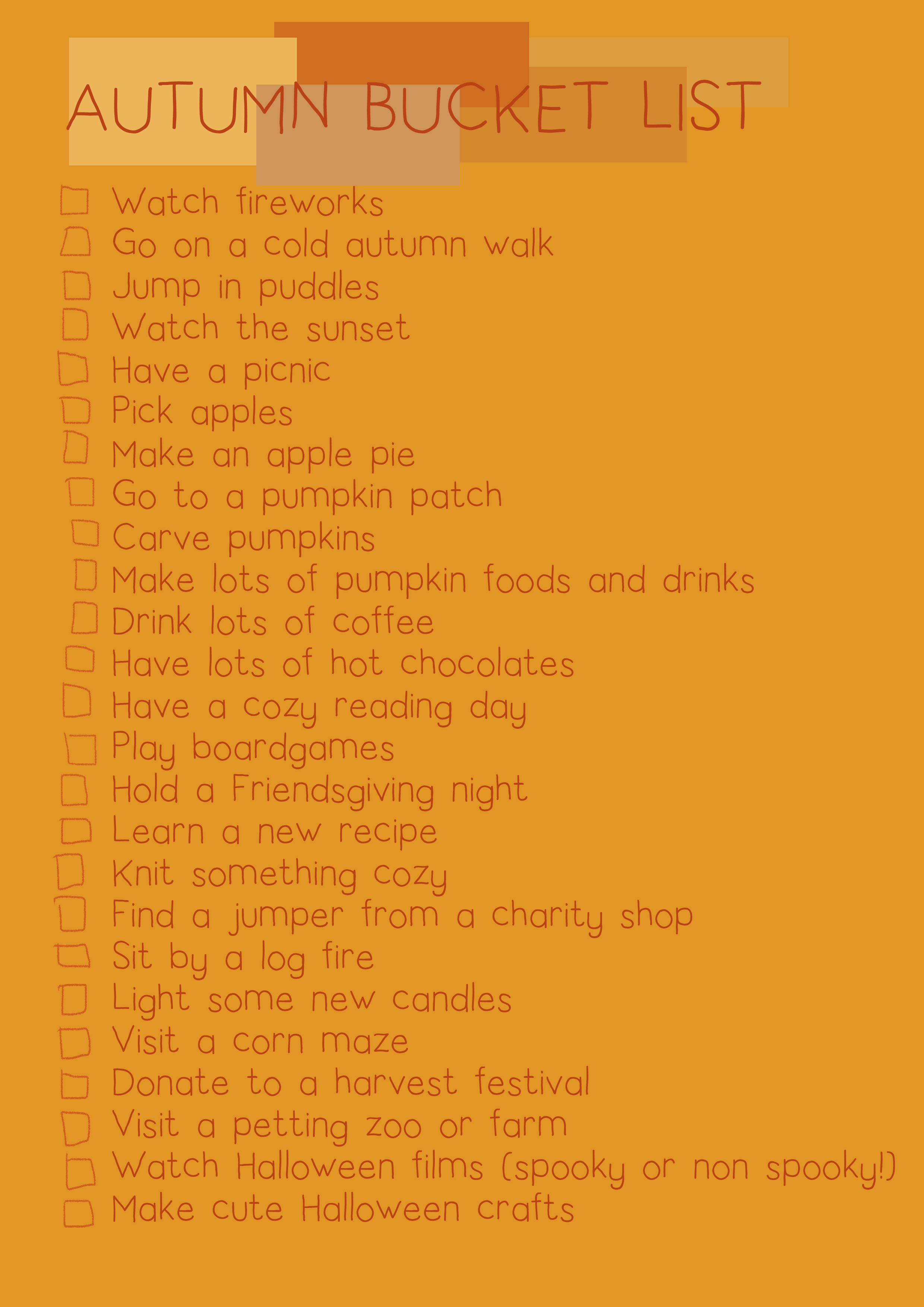 Autumnbucketlist