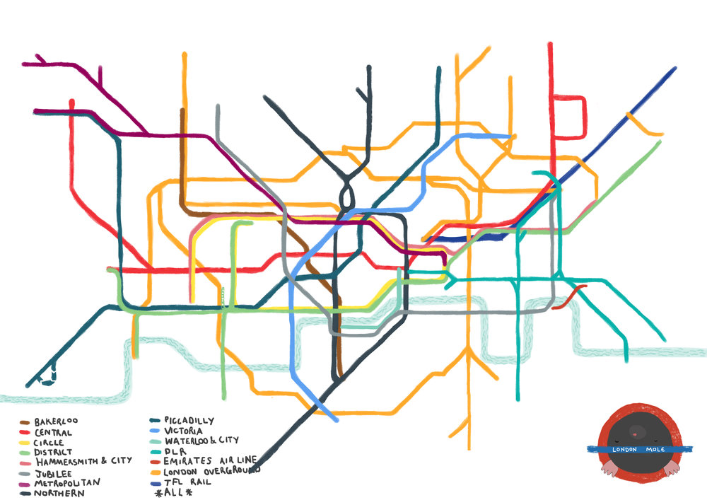 Bambi Willow Tube Map