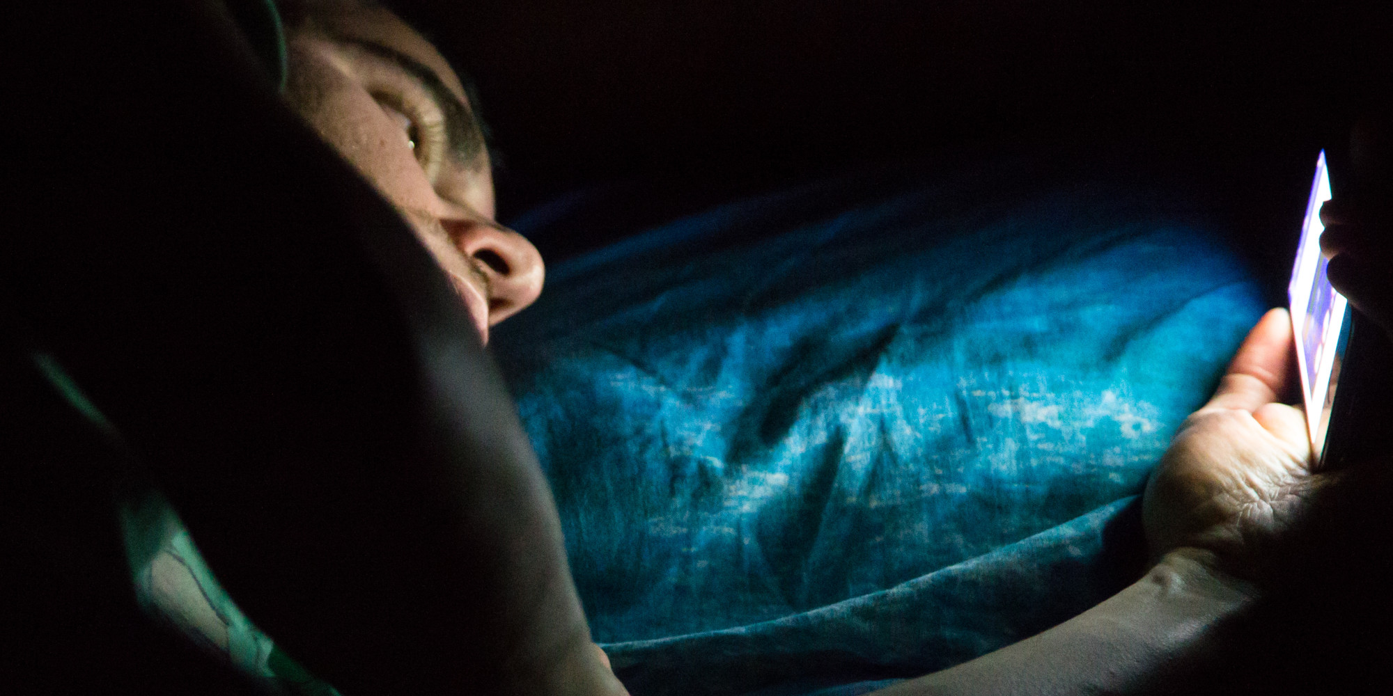 smartphone de nuit