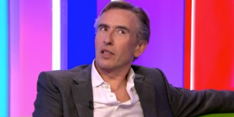 Steve Coogan announces a new Alan Partridge show for 2018 on The One Show.