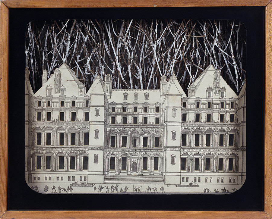 Setting for a Fairy Tale  by Joseph Cornell