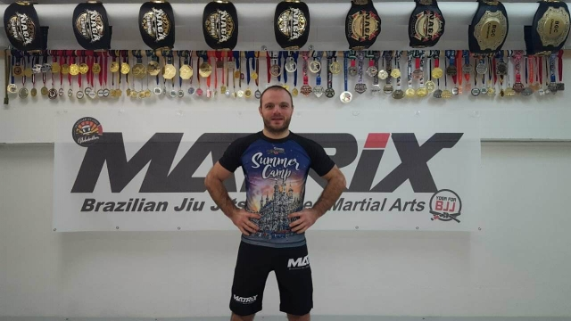 Svilen Dimitrov - Coach at Matrix-Saarbrücken, BJJ-Brownbelt under Kristian Popov.More Info here