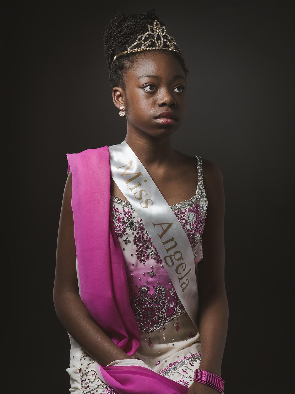 Angela, aged 11