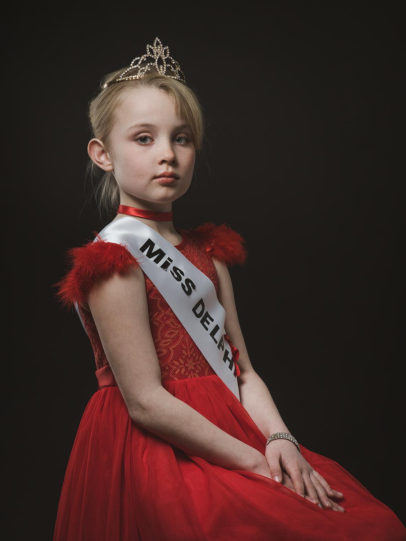 Delphine, aged 9