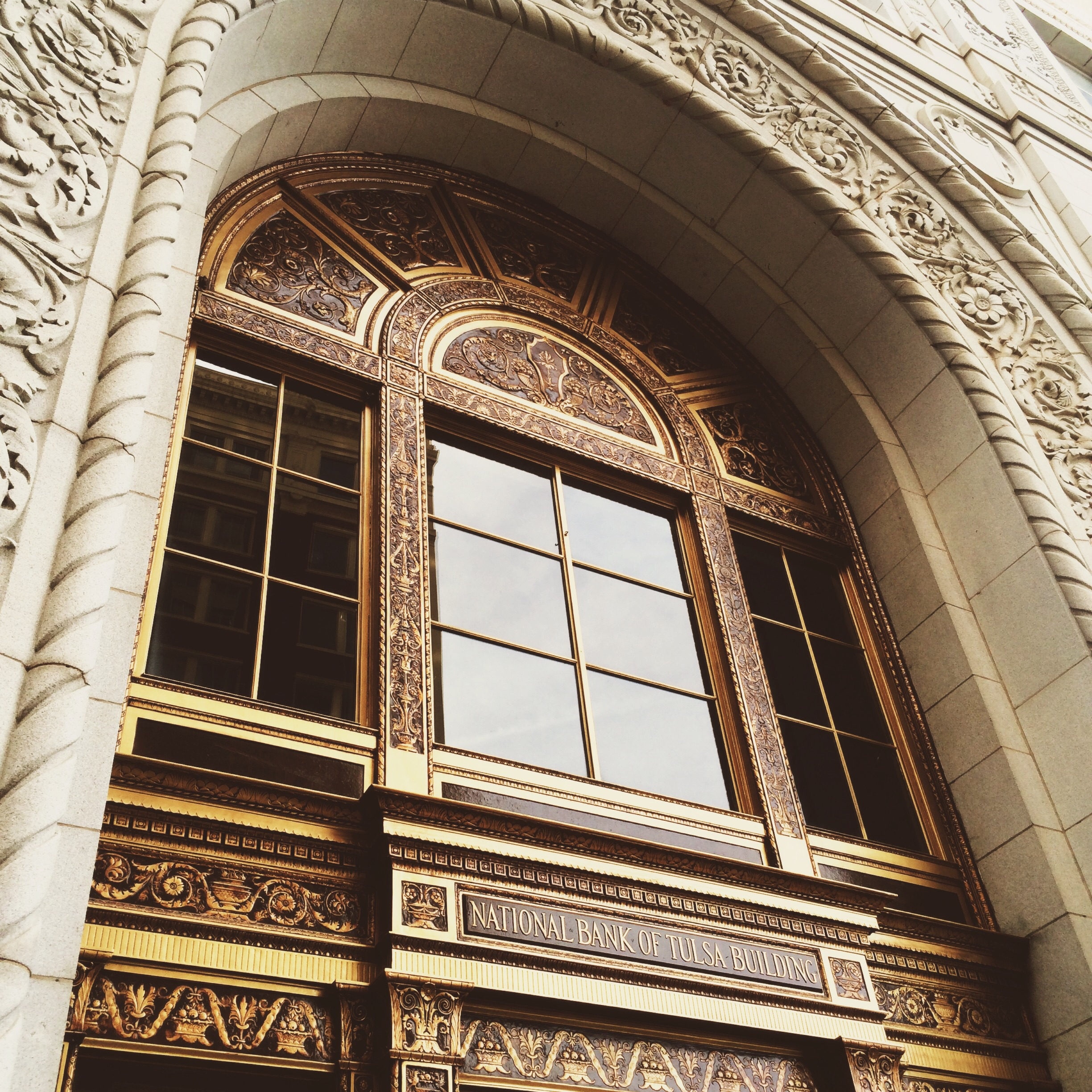 This was a super cool building that has been restored almost to it's origin. It is currently home to a Bank of Oklahoma Branch on it's ground floor so they said we couldn't take any images on the inside of the bank.