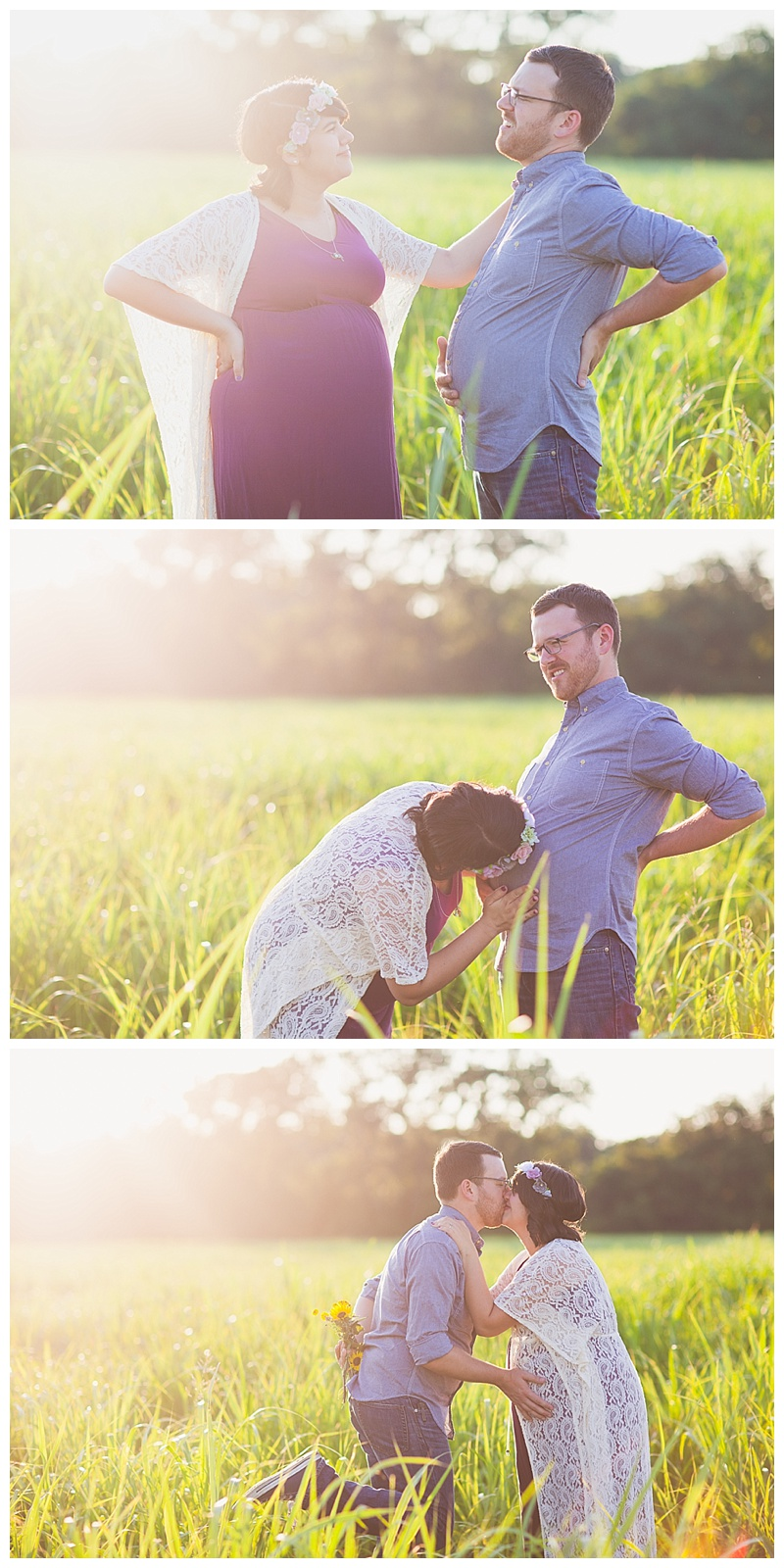 These three images show off the sweet humor these two share between the two of them! They are too cute!