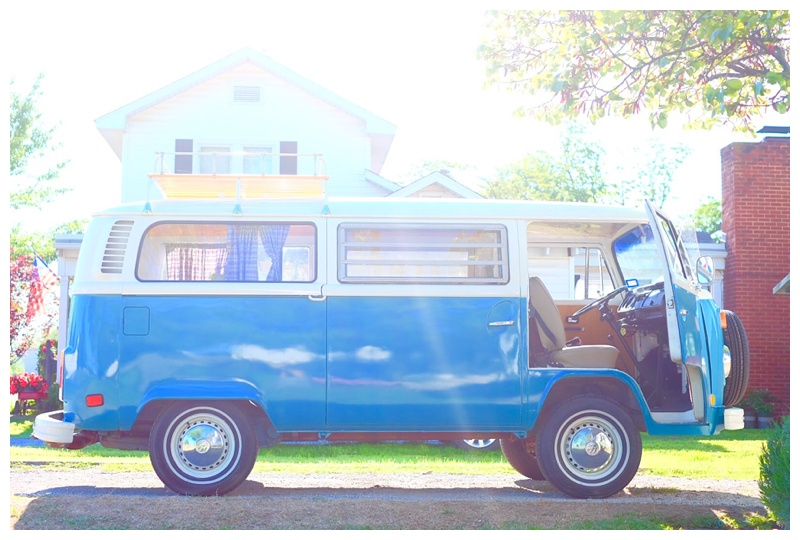 Tulsa, OK photo booth VW bus