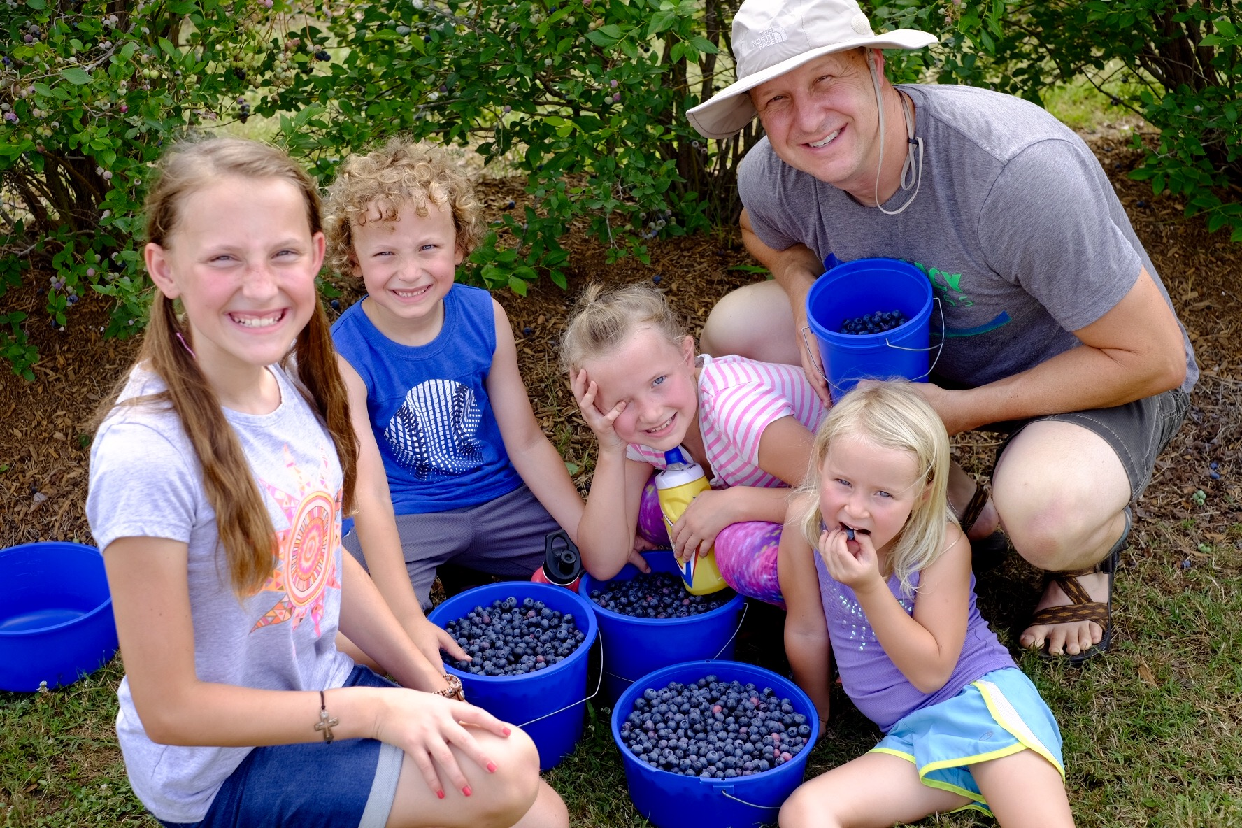 Family Berry day!