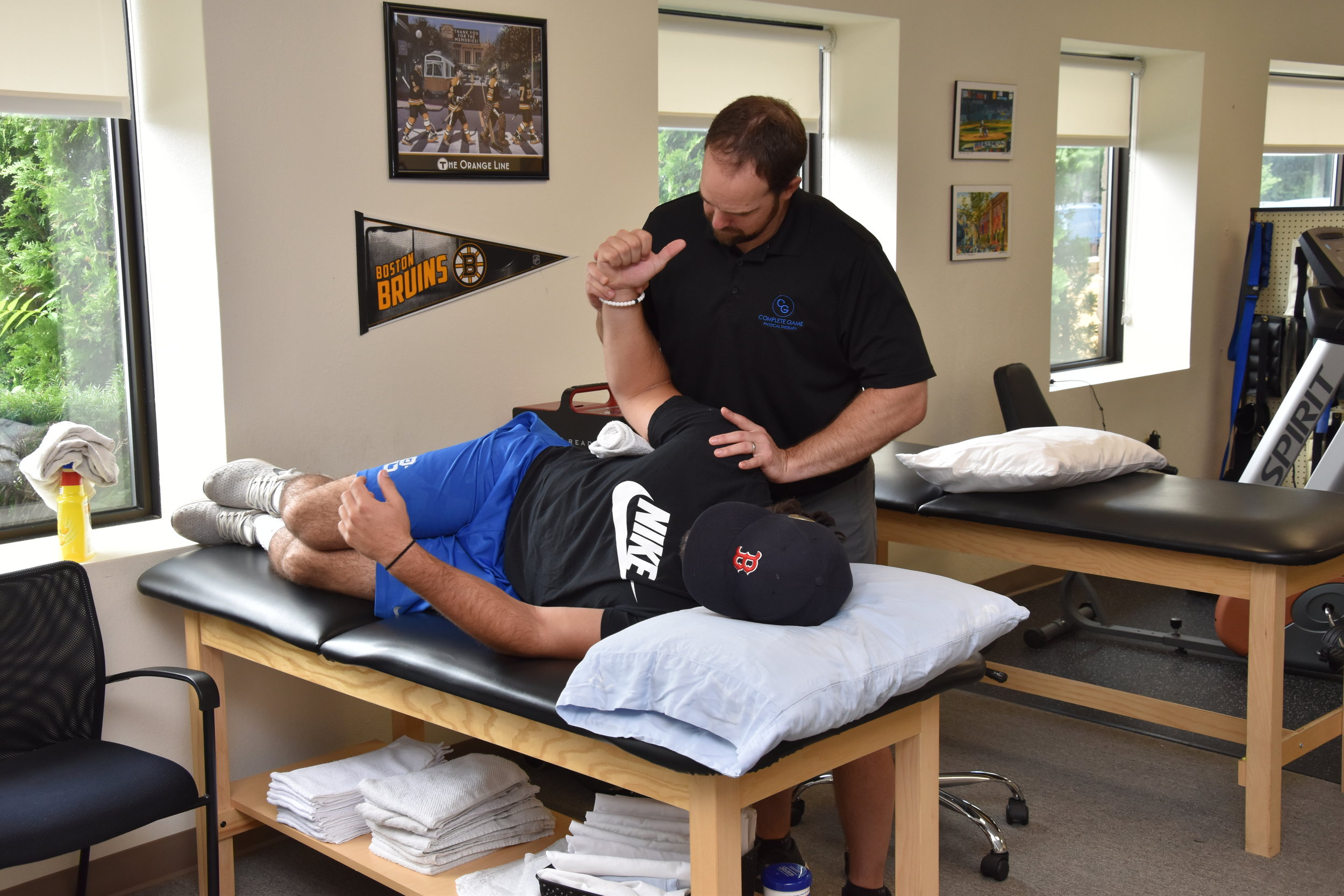 Althete and Sports<strong>Injury Treatment and Prevention</strong><a>LEARN MORE →</a>