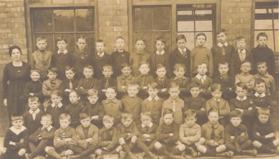 William H Foster 6th from right front row