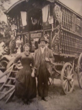 Ernest and Helen Smith formally Helen Gorman, met on the Black Patch when Ernest was18yrs old and Helen 16 yrs old. This photograph was taken somewere in Worcestershire about 1916 to 1917. charlenemaguire@hotmail.co.uk