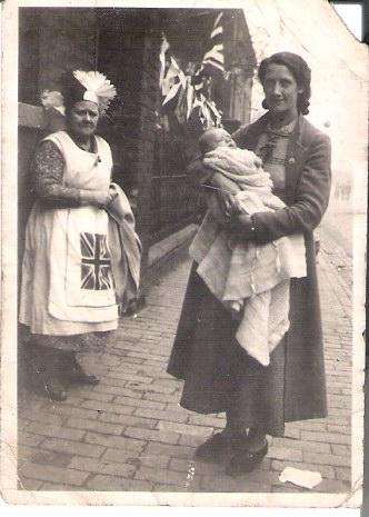 Photo for inclusion in your valuable site.Mrs EMILY Louisa Williams..& Mrs Cissie WESTON (with son Derek), outside No.21 Benson Road. Coronation King George V1 1937. Best Regards Derek Weston          derekjohnweston @  hotmail.co.uk  .