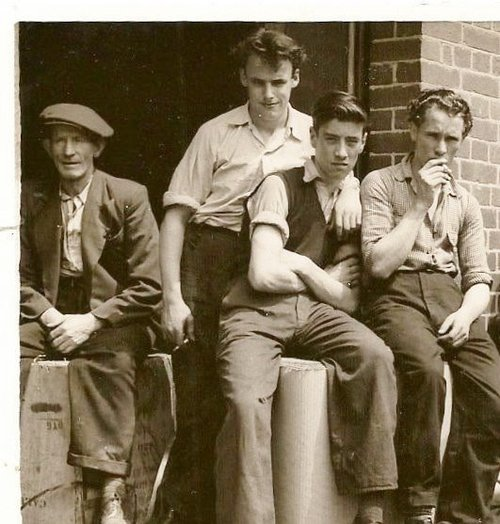 Martin+Byrne,(Senior)+Left+With+Cap.+Others+Unknown.+Taken+In+Lunch+Hour+Outside+Rowlands+Electrical+Accessories+Limited+(The+Real)+June+1955+(5).jpg