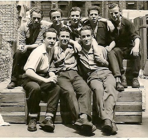Matt+Redmond+Bottom+left,+others+unmnown.+All+Irish.Taken+inside+Rowlands+Electrical+Accessories+Limited+(+The+Real+June)+1955+(6)+(1).jpg
