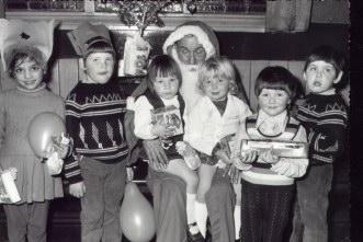Devonshire Arms  Christmas 1973.